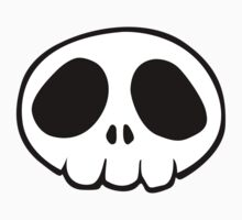 The World God Only Knows skull Kids Tee
