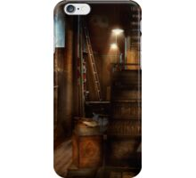 Steampunk - Tool room of a mad man iPhone Case/Skin