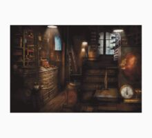 Steampunk - Tool room of a mad man Kids Clothes