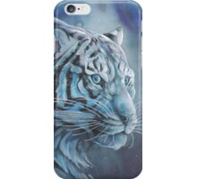 Blue Tiger Colour iPhone Case/Skin