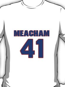 National baseball player Rusty Meacham jersey 41 T-Shirt
