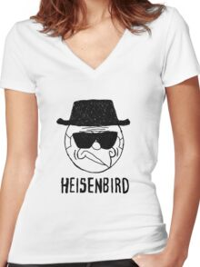 Heisenbird - Mordecai Women's Fitted V-Neck T-Shirt