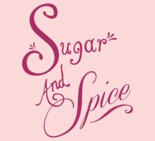Sugar and Spice Kids Tee