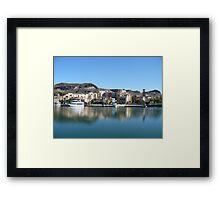 Lake Side Community Framed Print