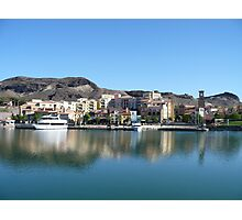 Lake Side Community Photographic Print