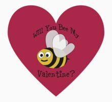 Will You Bee My Valentine? Kids Clothes