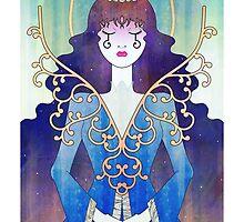 Anthrocemorphia - Queen of Clubs by Sophia Adalaine Zhou