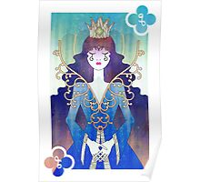Anthrocemorphia - Queen of Clubs Poster