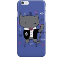 Jazz Singer Cat iPhone Case/Skin