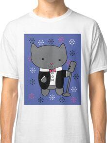 Jazz Singer Cat Classic T-Shirt