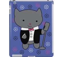 Jazz Singer Cat iPad Case/Skin