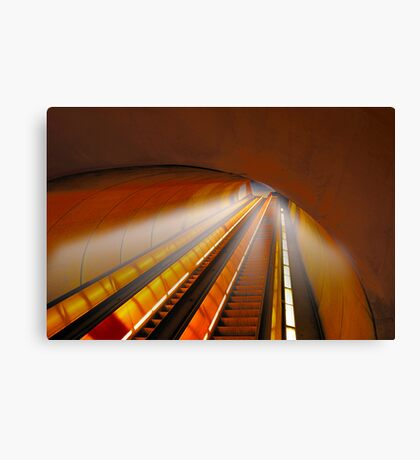 Tripping at Dupont Station Canvas Print