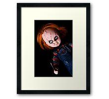 Evil Horror Doll Framed Print