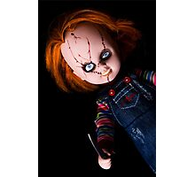 Evil Horror Doll Photographic Print