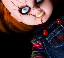 Evil Horror Doll Sticker