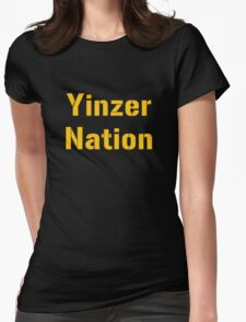 Yinzer Nation Womens Fitted T-Shirt
