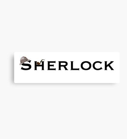 Sherlock - Doyle Canvas Print