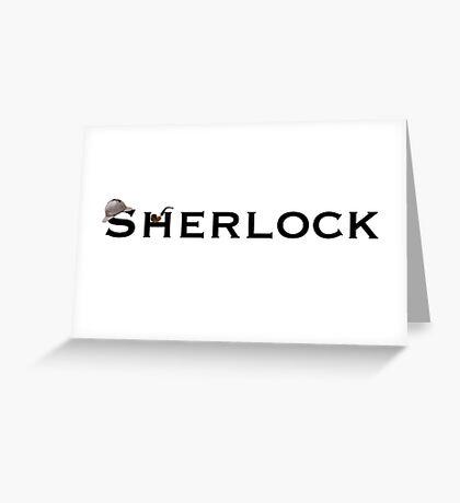 Sherlock - Doyle Greeting Card