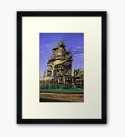 One of those stainless steel things Framed Print