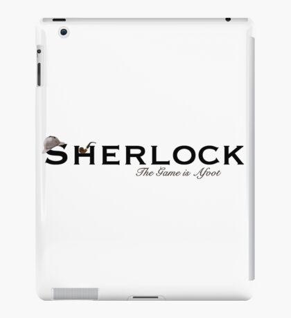 Sherlock - The Game is Afoot iPad Case/Skin