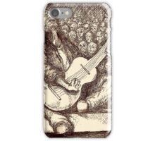 Guitar Man iPhone Case/Skin