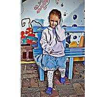 Little Girl Photographic Print