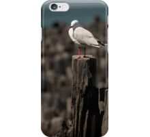 Port Melbourne pier 2 iPhone Case/Skin