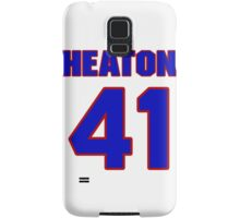 National baseball player Neal Heaton jersey 41 Samsung Galaxy Case/Skin