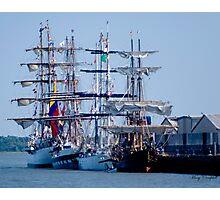 Tall Ships Home Again Photographic Print