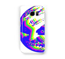Neon Majora's mask moon  Samsung Galaxy Case/Skin