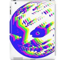 Neon Majora's mask moon  iPad Case/Skin