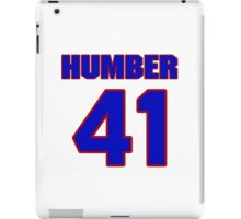 National baseball player Philip Humber jersey 41 iPad Case/Skin