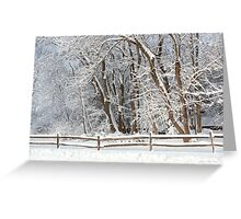 Winter - Westfield, NJ - Snow Day Greeting Card