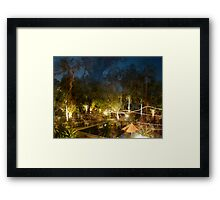 The Rink'n Flip'n Deer had a Rompadroop in the P00l of Glippers Framed Print
