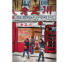 Chinatown Cuisine Photographic Print