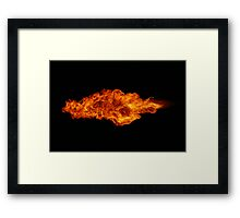 Flying Dragon Framed Print