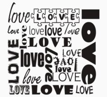 Beautiful Cushions/ Love / Love is all around Kids Clothes