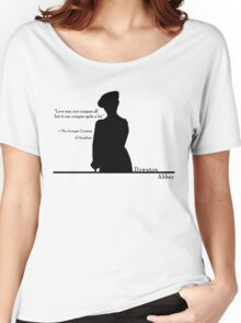Love Conquers Quite A Lot Women's Relaxed Fit T-Shirt
