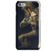De Goya's Monsters iPhone Case/Skin