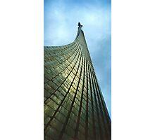 Cosmonauts Monument - Moscow Photographic Print