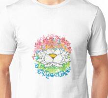 Lotus Flower Unisex T-Shirt