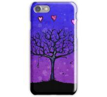 Heart Balloons Noose Tree iPhone Case/Skin