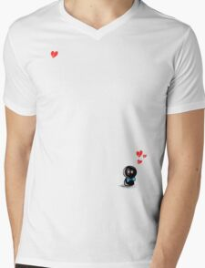 laddie Mens V-Neck T-Shirt