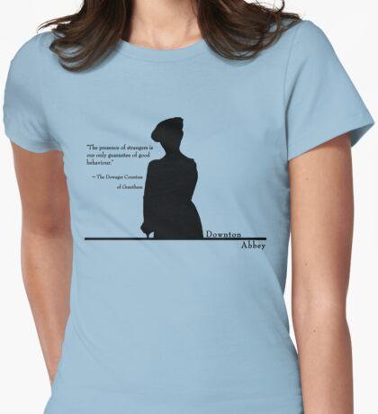 Good Behaviour Womens Fitted T-Shirt