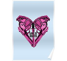 Love Is Death Heart Weapons Poster