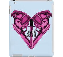 Love Is Death Heart Weapons iPad Case/Skin