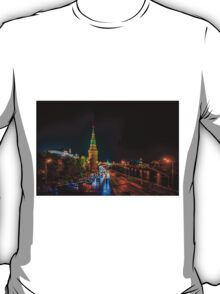 Moscow Kremlin At Night T-Shirt