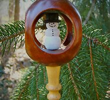 The Best Christmas Ornament - Snowman by MotherNature