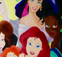 Disney girls  Sticker