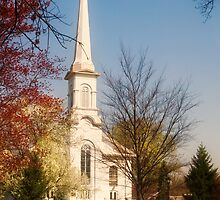 Westfield Presbyterian Church by Mike  Savad